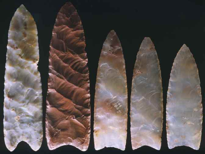 Pre-Clovis Projectile Points Found at Paisley Cave