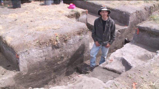 Archaeologists uncover remains, other Fremont Indian artifacts near Utah Lake